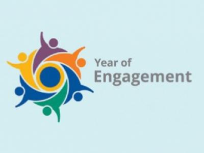 Year of Engagement Logo